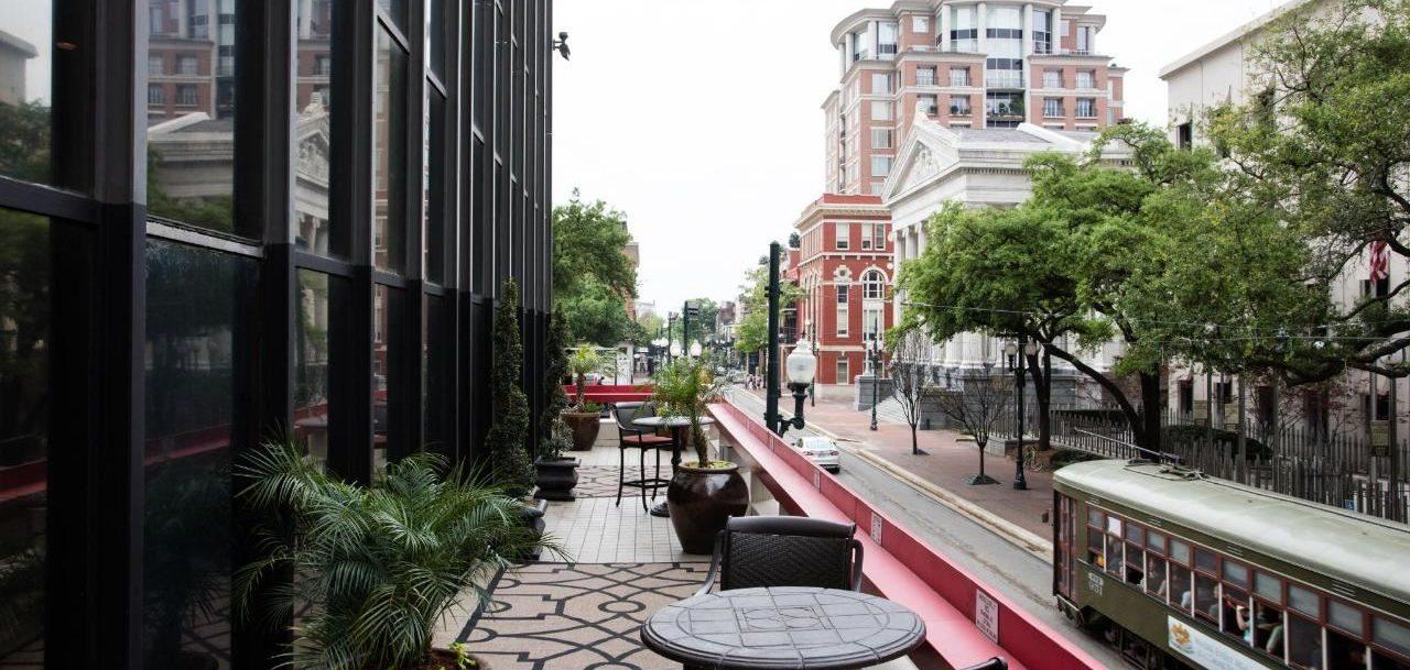 Blake Hotel Terrace